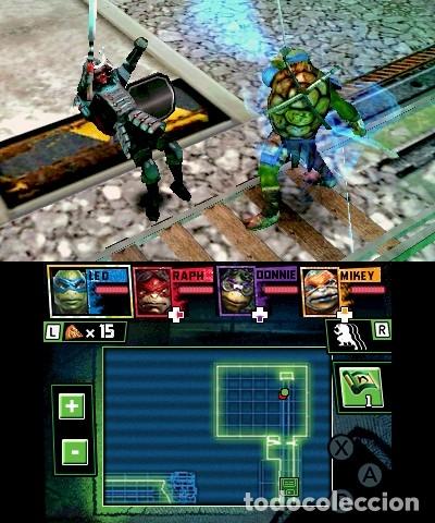 Videojuegos y Consolas: LOTE OFERTA JUEGO NINTENDO DS - TMNT - Foto 3 - 181123233