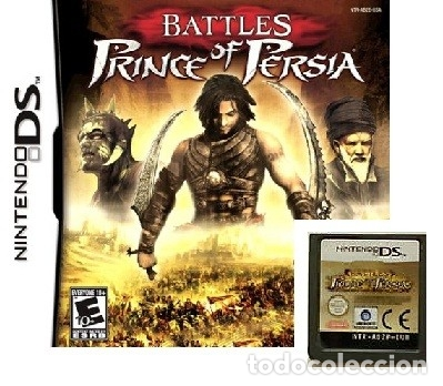 LOTE OFERTA JUEGO NINTENDO DS - BATTLES PRINCE OF PERSIA - SIN CAJA SOLO EL JUEGO (Juguetes - Videojuegos y Consolas - Nintendo - DS)