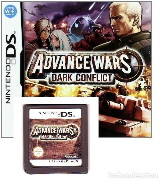 LOTE OFERTA JUEGO NINTENDO DS - ADVANCE WARS DARK CONFLICT - SIN CAJA SOLO EL JUEGO (Juguetes - Videojuegos y Consolas - Nintendo - DS)