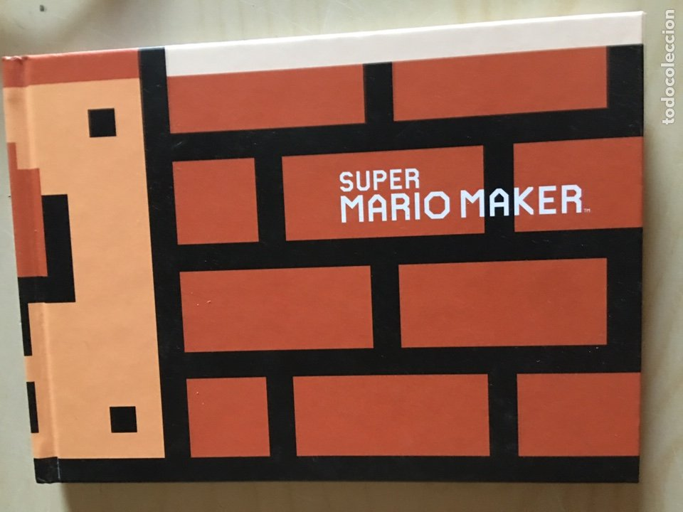 SUPER MARIO MAKER - ARTBOOK NINTENDO- SHIGERU MIYAMOTO (Juguetes - Videojuegos y Consolas - Nintendo - DS)