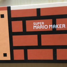 Videojuegos y Consolas: SUPER MARIO MAKER - ARTBOOK NINTENDO- SHIGERU MIYAMOTO. Lote 181927681