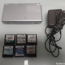 Videojuegos y Consolas: NINTENDO DS LITE + JUEGOS. Lote 183801246