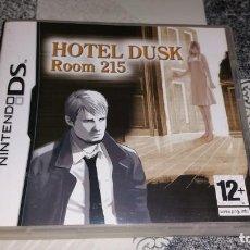 Videojuegos y Consolas: HOTEL DUSK ROOM 215 NINTENDO DS PAL ESPAÑA COMPLETO. Lote 183849453