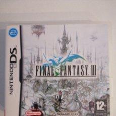 Videojuegos y Consolas: FINAL FANTASY III PARA NINTENDO DS. Lote 183959132