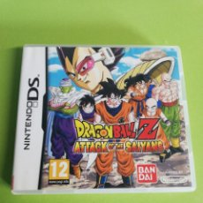 Videojuegos y Consolas: DRAGONNALL Z ATTACK OF THE SAIYANS DS. Lote 186064495