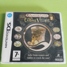 Videojuegos y Consolas: PROFESSOR LAYTON AND THE CURIOUS VILLAGE DS. Lote 186065918
