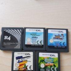 Videojuegos y Consolas: JUEGOS NINTENDO DS. Lote 187494373