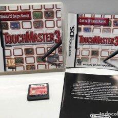 Videojuegos y Consolas: TOUCHMASTER 3 NINTENDO DS. Lote 191088075