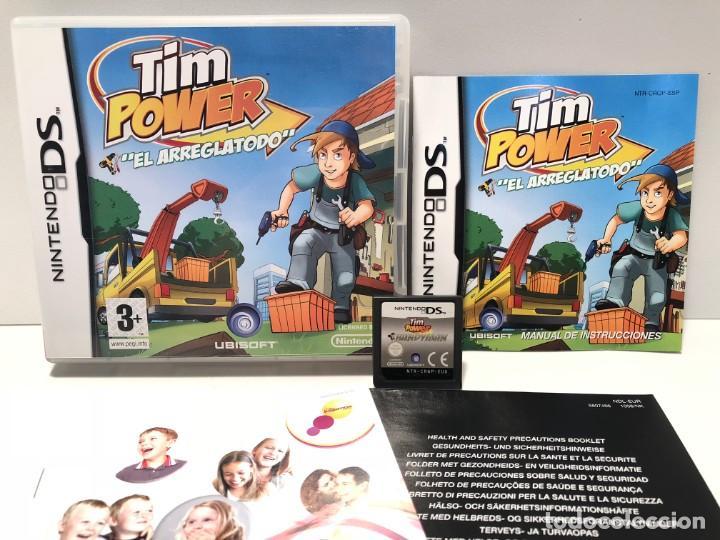 TIM POWER EL ARREGLATODO NINTENDO DS (Juguetes - Videojuegos y Consolas - Nintendo - DS)