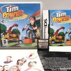 Videojuegos y Consolas: TIM POWER EL ARREGLATODO NINTENDO DS. Lote 191151458