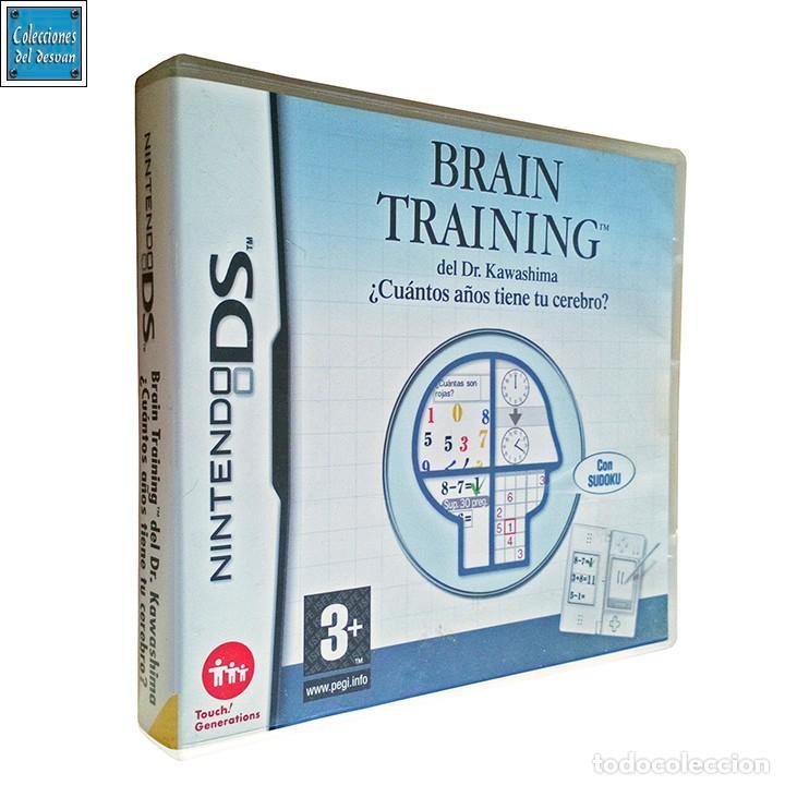 BRAIN TRAINING DEL DR KAWASHIMA / ¿CUÁNTOS AÑOS TIENE TU CEREBRO? / JUEGO NINTENDO DS / 2006 (Juguetes - Videojuegos y Consolas - Nintendo - DS)