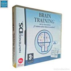 Videojuegos y Consolas: BRAIN TRAINING DEL DR KAWASHIMA / ¿CUÁNTOS AÑOS TIENE TU CEREBRO? / JUEGO NINTENDO DS / 2006. Lote 191361617