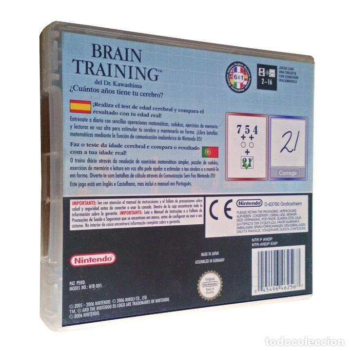 Videojuegos y Consolas: Brain Training del Dr Kawashima / ¿Cuántos años tiene tu cerebro? / Juego Nintendo DS / 2006 - Foto 2 - 191361617