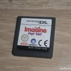 Videojuegos y Consolas: NINTENDO DS NDS JUEGO IMAGINE PET VET. Lote 191713688