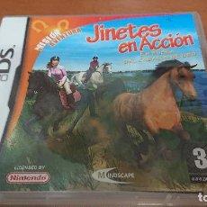 Videojuegos y Consolas: JINETES EN ACCION NINTENDO DS ESPAÑOL COMPLETO. Lote 193842512