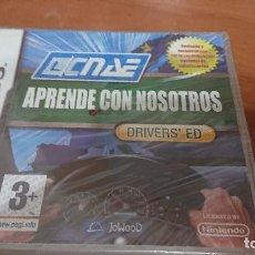 Videojuegos y Consolas: APRENDE CON NOSOTROS DRIVERS'ED A ESTRENAR ESPAÑOL COMPLETO. Lote 193902881