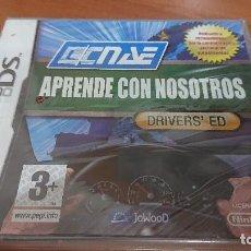 Videojuegos y Consolas: APRENDE CON NOSOTROS DRIVERS'ED A ESTRENAR ESPAÑOL COMPLETO. Lote 193903091