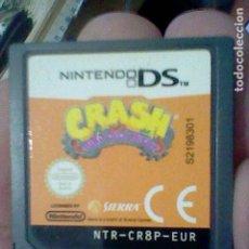 Videojuegos y Consolas: CRASH MIND OVER THE MUTANT SEGA NINTENDO DS CARTUCHO FUNCIONANDO NTR CR8P EUR. Lote 194177156