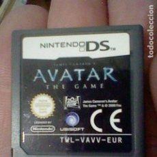 Videojuegos y Consolas: AVATAR THE GAME NINTENDO DS CARTUCHO FUNCIONANDO TWL VAVV EUR. Lote 194180050