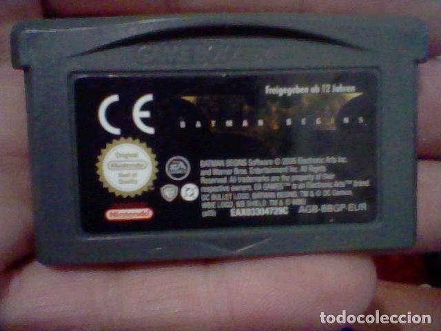 BATMAN BEGINNS NINTENDO GBA GAME BOY ADVANCE CARTUCHO FUNCIONANDO AGB BBGP EUR (Juguetes - Videojuegos y Consolas - Nintendo - DS)