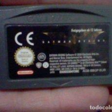 Videojuegos y Consolas: BATMAN BEGINNS NINTENDO GBA GAME BOY ADVANCE CARTUCHO FUNCIONANDO AGB BBGP EUR. Lote 194181455