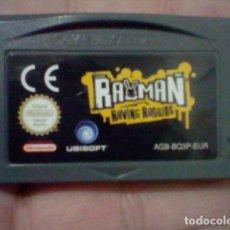 Videojuegos y Consolas: RAYMAN RAYVING RABBIDS NINTENDO GBA GAME BOY ADVANCE CARTUCHO FUNCIONANDO AGB BQ3P EUR. Lote 194181868