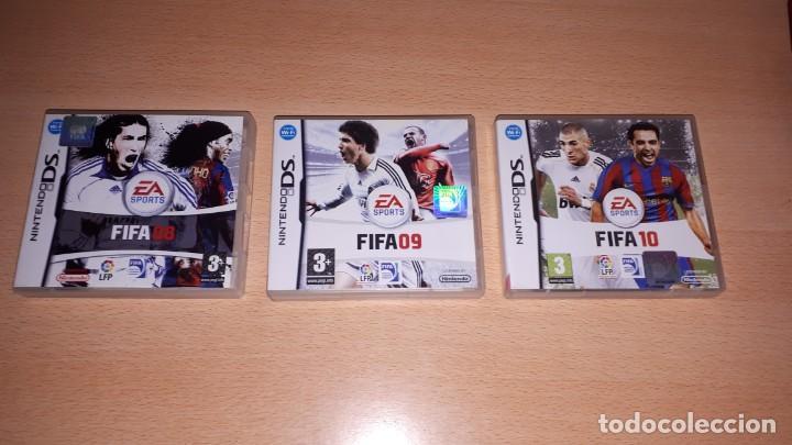 Videojuegos y Consolas: 3 JUEGOS NINTENDO DS FIFA 08-09-10 - Foto 3 - 194236738