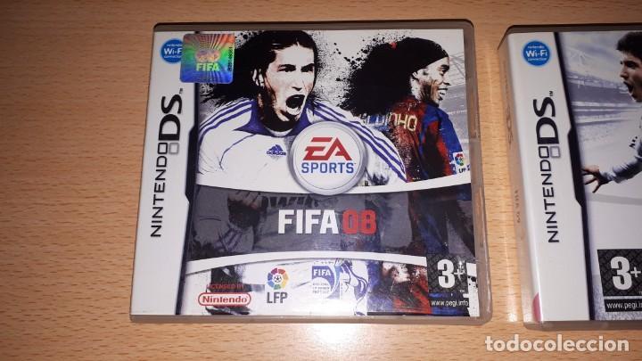 Videojuegos y Consolas: 3 JUEGOS NINTENDO DS FIFA 08-09-10 - Foto 4 - 194236738