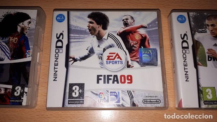 Videojuegos y Consolas: 3 JUEGOS NINTENDO DS FIFA 08-09-10 - Foto 5 - 194236738