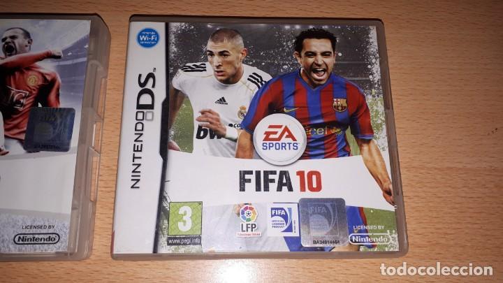 Videojuegos y Consolas: 3 JUEGOS NINTENDO DS FIFA 08-09-10 - Foto 6 - 194236738