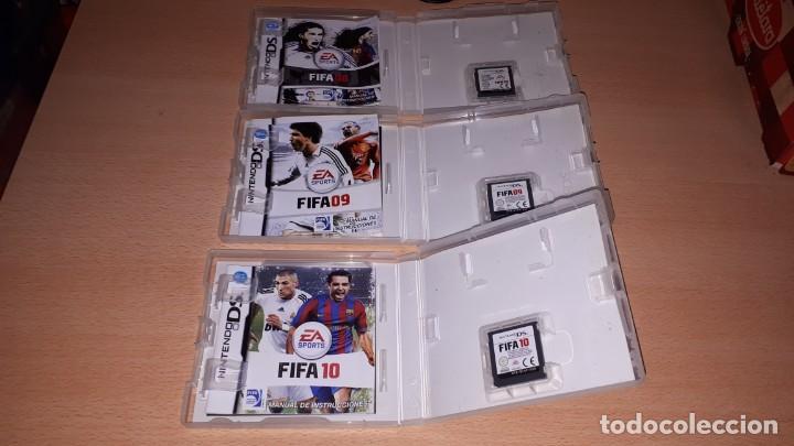 Videojuegos y Consolas: 3 JUEGOS NINTENDO DS FIFA 08-09-10 - Foto 11 - 194236738