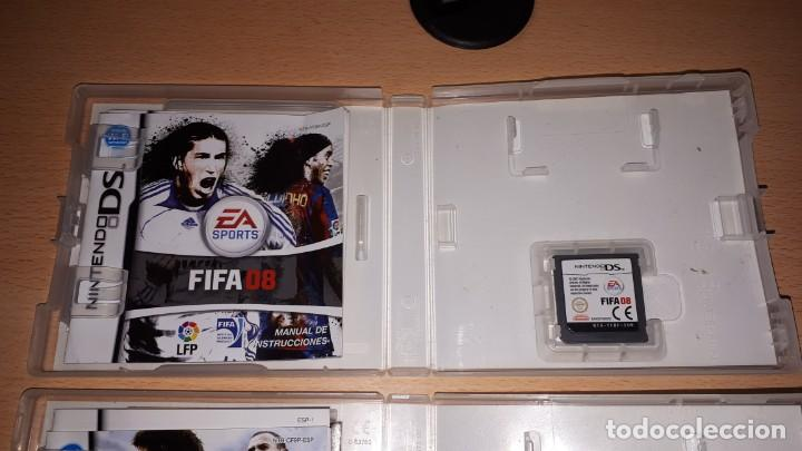 Videojuegos y Consolas: 3 JUEGOS NINTENDO DS FIFA 08-09-10 - Foto 12 - 194236738