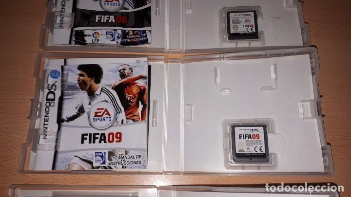 Videojuegos y Consolas: 3 JUEGOS NINTENDO DS FIFA 08-09-10 - Foto 13 - 194236738