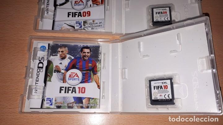 Videojuegos y Consolas: 3 JUEGOS NINTENDO DS FIFA 08-09-10 - Foto 14 - 194236738