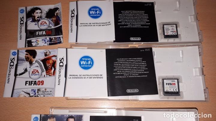 Videojuegos y Consolas: 3 JUEGOS NINTENDO DS FIFA 08-09-10 - Foto 16 - 194236738