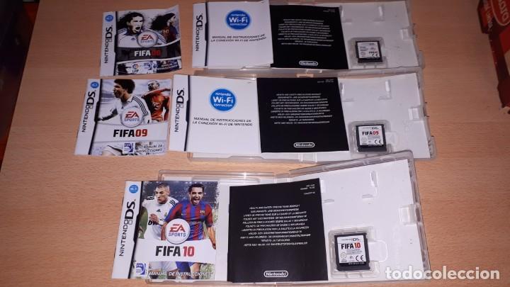 Videojuegos y Consolas: 3 JUEGOS NINTENDO DS FIFA 08-09-10 - Foto 2 - 194236738