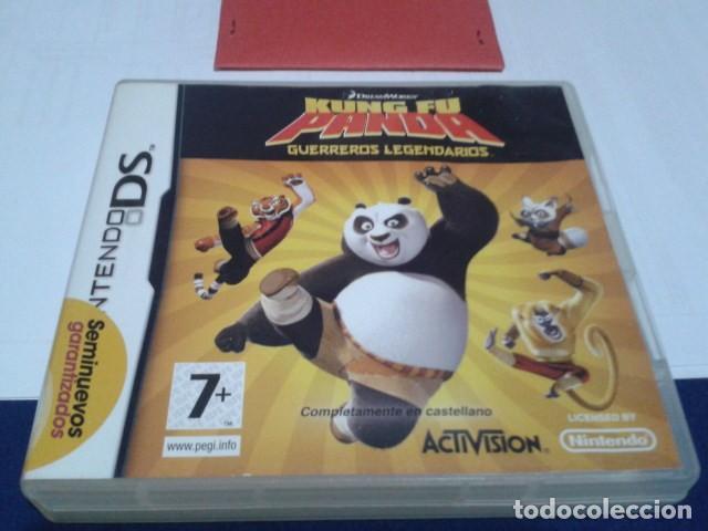 CAJA SIN EL JUEGO KUNG FU PANDA - GUERREROS LEGENDARIOS NINTENDO DS (Juguetes - Videojuegos y Consolas - Nintendo - DS)