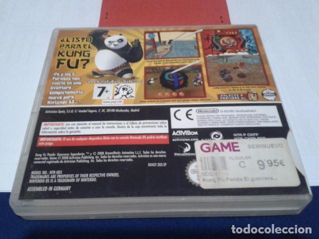 Videojuegos y Consolas: CAJA SIN EL JUEGO KUNG FU PANDA - GUERREROS LEGENDARIOS NINTENDO DS - Foto 2 - 194252443