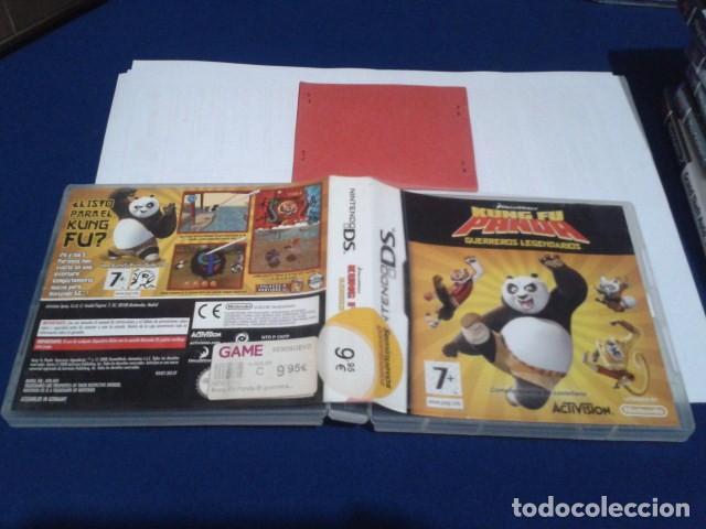 Videojuegos y Consolas: CAJA SIN EL JUEGO KUNG FU PANDA - GUERREROS LEGENDARIOS NINTENDO DS - Foto 4 - 194252443