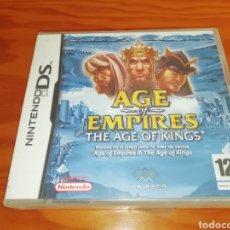 Videojuegos y Consolas: AGE OF EMPIRES NINTENDO DS THE AGE OF KINGS. Lote 194300108