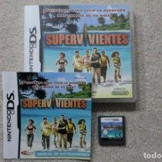 Videojuegos y Consolas: SUPERVIVIENTES NINTENDO DS. Lote 195610447