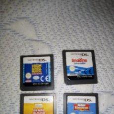 Videojuegos y Consolas: LOTE JUEGOS NINTENDO DS. Lote 196658027
