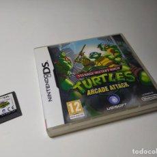Videojogos e Consolas: TURTLES - ARCADE ATTACK ( NINTENDO DS - 3DS. Lote 197346502
