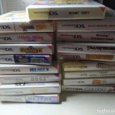 Videojogos e Consolas: LOTE / PACK 17 JUEGOS DE NINTENDO DS ( ENVIO CERTIFICADO GRATIS!!! ). Lote 197350501