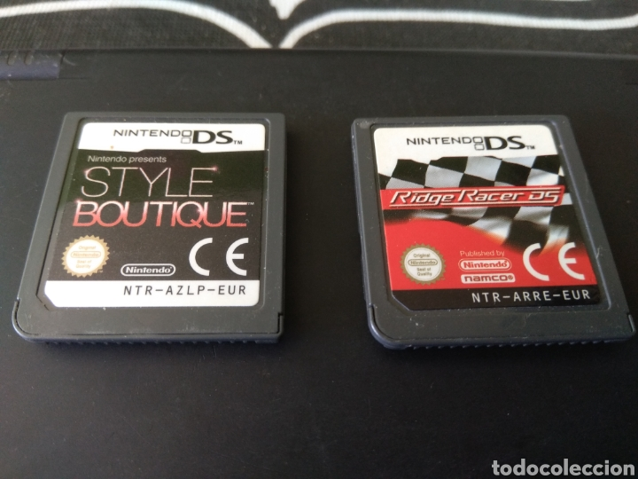 Videojuegos y Consolas: Nintendo DSi color negro mate. Style boutique. Ridge racer ds - Foto 5 - 198324842