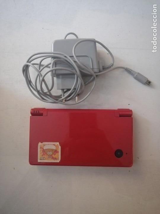 CONSOLA NINTENDO DS I CON CÁMARA DE FOTOS,JUEGO Y CARGADOR. (Juguetes - Videojuegos y Consolas - Nintendo - DS)