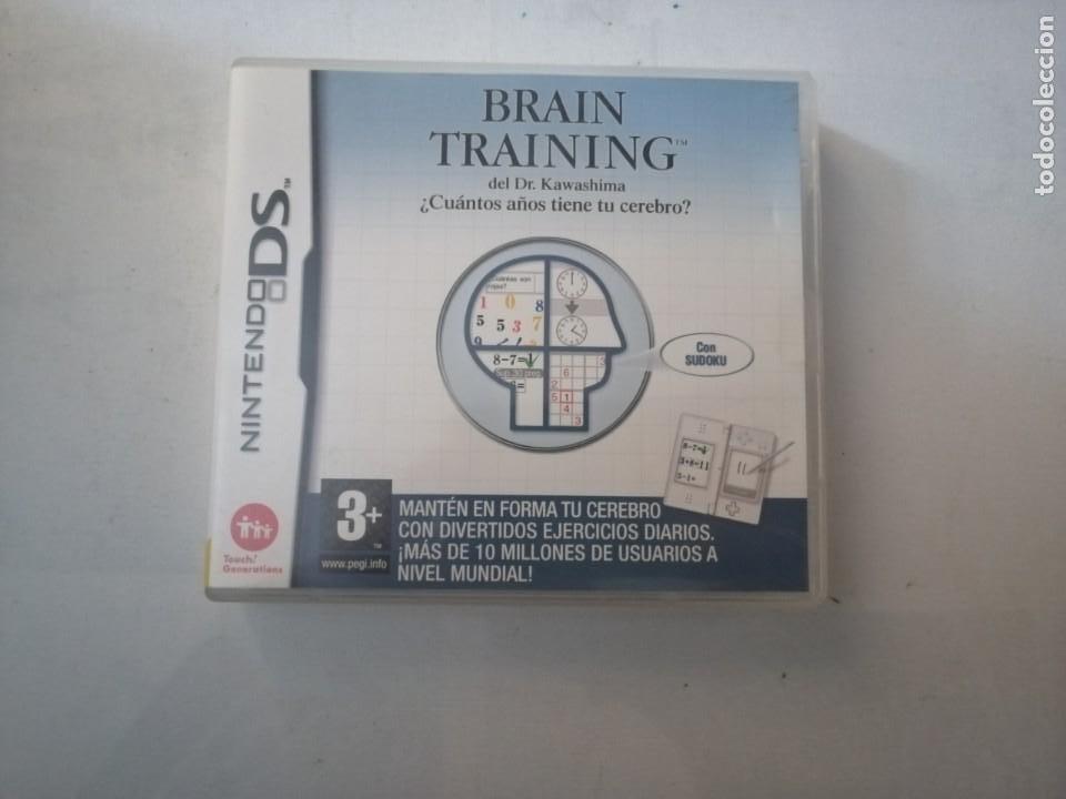 JUEGO NINTENDO DS.BRAIN TRAINING. (Juguetes - Videojuegos y Consolas - Nintendo - DS)