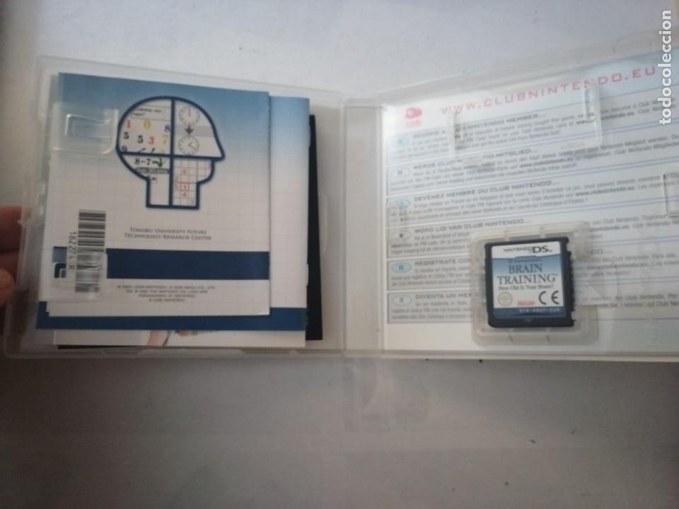 Videojuegos y Consolas: JUEGO NINTENDO DS.BRAIN TRAINING. - Foto 3 - 199527257