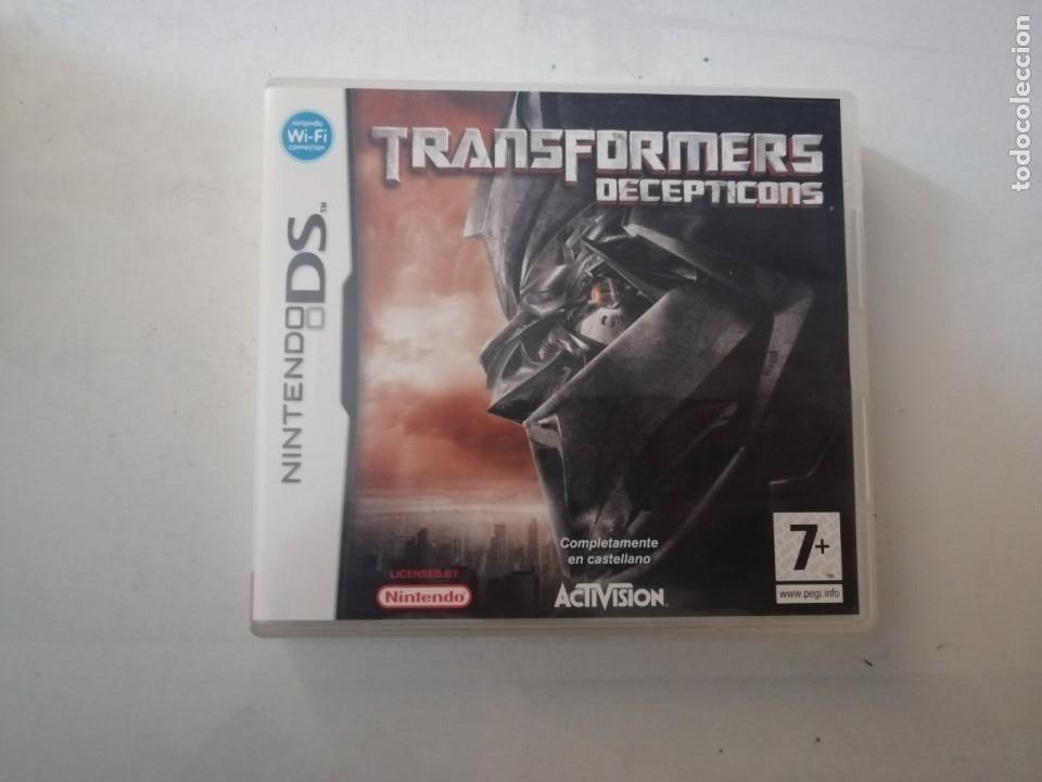 JUEGO NINTENDO DS TRANSFORMERS DECEPTICONS. (Juguetes - Videojuegos y Consolas - Nintendo - DS)