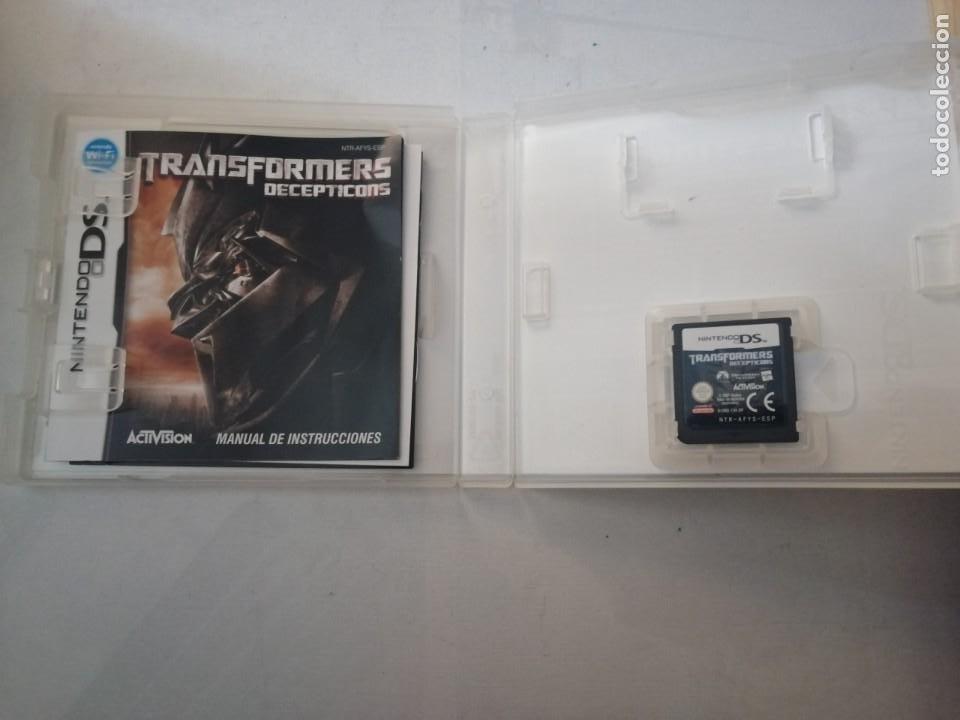 Videojuegos y Consolas: JUEGO NINTENDO DS TRANSFORMERS DECEPTICONS. - Foto 3 - 199527963